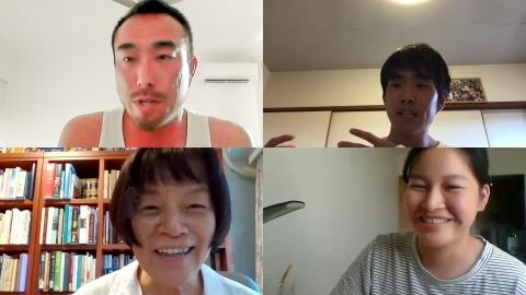 真夏のオーストラリアからお話しいただいた松本さん